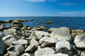 Rocky Beach Landscape Royalty Free Stock Images - 55246219