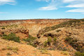 Panoramic Australian Landscape - The Bay Of Exmouth.  Yardie Creek Gorge In The Cape Range National Park, Ningaloo. Royalty Free Stock Photo - 55248425