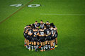 New Zealand Rugby Team Kiwis Circled In At A Field Royalty Free Stock Images - 55272109