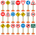Road Signs, Traffic Signs, Transportation, Safety, Travel Royalty Free Stock Image - 55283976