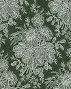 White Lace Bouquet. Floral Pattern. Royalty Free Stock Photos - 55290738