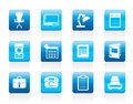 Simple Business, Office And Firm Icons Royalty Free Stock Images - 55299439
