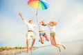 Group Of Happy Young People Having Fun On The Royalty Free Stock Image - 55304886