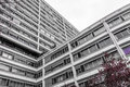 Modern And High Apartments Buildings Made Of Concrete Stock Image - 55312481