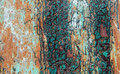 Old Peeling Paint On Rusty Metal Grunge Background Royalty Free Stock Photos - 55329468