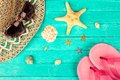 Summer Accessories Stock Image - 55366131