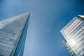 Office Glass Buildings In Abstract Stock Images - 55378914