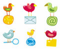 Set Of Birds Icons For Website Royalty Free Stock Photos - 5542498