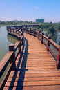 Wood Path On Water Royalty Free Stock Photo - 5542995