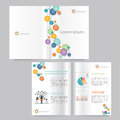 Book And Brochure Template Design.editable Stock Image - 55408691