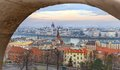 Viewpoint Panorama Of Budapest Royalty Free Stock Photo - 55413505