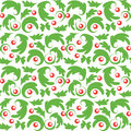 Seamless Vector Christmas Pattern Royalty Free Stock Images - 55414869