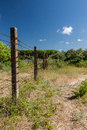 AN OLD FENCE Royalty Free Stock Images - 55434979