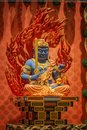 The Lord Buddha In Tooth Relic Temple, Singapore Stock Image - 55438381