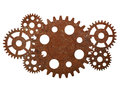 Rusty Gears And Cogwheels Stock Photography - 55449592