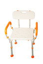 Plastic Chairs And Aluminum Royalty Free Stock Photo - 55454245