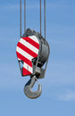 Crane Hook Against Blue Sky Royalty Free Stock Photo - 55457065