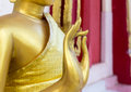 Buddha Statue Standing Composed Royalty Free Stock Photo - 55461805