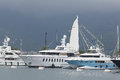 Tivat, Montenegro - JUNE 16: Golden Odyssey Yacht In The Port Of Tivat  On JUNE 16, 2014 Stock Photography - 55466252