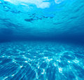 Underwater Shot Of The Sea Sandy Bottom Royalty Free Stock Photo - 55470685