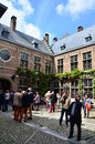 Antwerp, Belgium - May 10, 2015: Tourist Visit Rubenshuis (Rubens House) In Antwerp. Royalty Free Stock Photography - 55488117