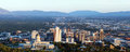 Panorama Of The Capital Of Utah In Salt Lake City In The Evening Sun Stock Images - 55507674