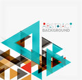 Abstract Geometric Background. Modern Overlapping Royalty Free Stock Image - 55523306