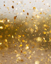 Golden Abstract Motion And Blur Background . Royalty Free Stock Photos - 55537118