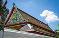 Thai Temple Roof Royalty Free Stock Image - 55542126