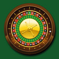 Roulette Wheel French Number Sequence Royalty Free Stock Photography - 55555947