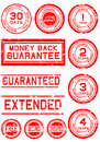 Rubber Stamps For Guarantees Royalty Free Stock Image - 55573016