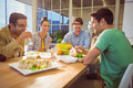 Business People Having Lunch Stock Photo - 55576840