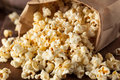 Homemade Kettle Corn Popcorn Stock Photo - 55581020