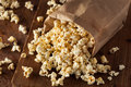 Homemade Kettle Corn Popcorn Stock Photography - 55581172