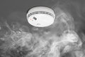 Smoke Detector Of Fire Alarm Stock Images - 55581924