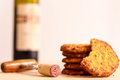 Red Wine And Biscuits Royalty Free Stock Photos - 55591958