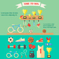 Vector Illustration Of Sport Equipment. Stock Images - 55597604
