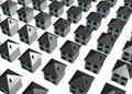 Abstract Housing Buildings Background Royalty Free Stock Photography - 5567207