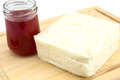 Strawberry Jam And Bread Stock Photo - 55614060