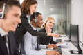 Call Center Royalty Free Stock Image - 55618896
