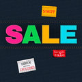 Jeans Sale Royalty Free Stock Photos - 55632798