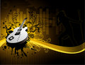 Vector Guitar Music Illustration Royalty Free Stock Photo - 5570175