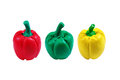 Bell Pepper Model From Japanese Clay Stock Photography - 55711352