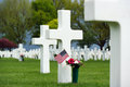 American War Cemetery Royalty Free Stock Photography - 55730927