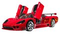 Red Supercar Stock Photo - 55731370