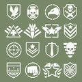 Military Logos Of Special Forces Stock Photography - 55758012