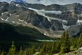 Canadian Rockies . Crowfoot Glacier And Bow Lake Royalty Free Stock Images - 55773319