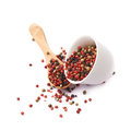 Cup Filled With Pepper Seeds Royalty Free Stock Photos - 55774098