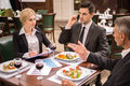 Business Lunch Stock Images - 55797044