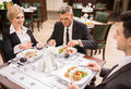 Business Lunch Royalty Free Stock Images - 55797059